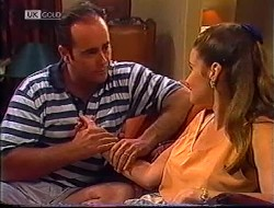 Philip Martin, Julie Robinson in Neighbours Episode 1890