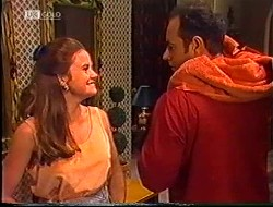 Julie Robinson, Philip Martin in Neighbours Episode 1890