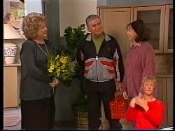 Cheryl Stark, Lou Carpenter, Pam Willis in Neighbours Episode 1979