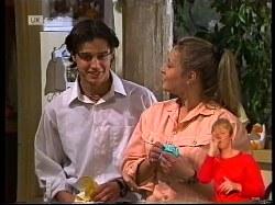 Rick Alessi, Lauren Turner in Neighbours Episode 1979