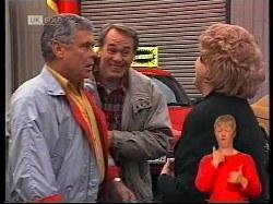 Lou Carpenter, Doug Willis, Cheryl Stark in Neighbours Episode 1979