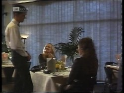 Waiter, Annalise Hartman, Gaby Willis in Neighbours Episode 1996