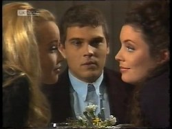 Annalise Hartman, Mark Gottlieb, Gaby Willis in Neighbours Episode 1996