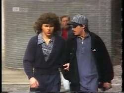 Michael Martin, Prison Guard, Rick Alessi in Neighbours Episode 1996