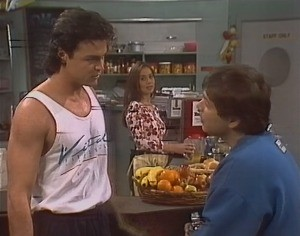 Wayne Duncan, Beth Brennan, Mark Gottlieb in Neighbours Episode 2047