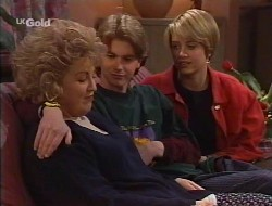Cheryl Stark, Brett Stark, Danni Stark in Neighbours Episode 2242