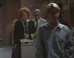 Cheryl Stark, Lou Carpenter, Brett Stark in Neighbours Episode 2400