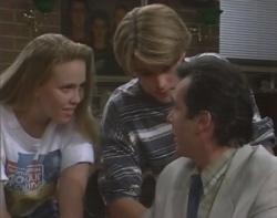 Libby Kennedy, Billy Kennedy, Karl Kennedy in Neighbours Episode 2400