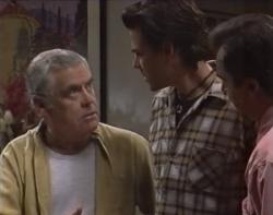 Lou Carpenter, Sam Kratz, Karl Kennedy in Neighbours Episode 2597