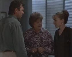 Karl Kennedy, Marlene Kratz, Debbie Martin in Neighbours Episode 2597