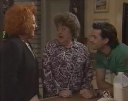Cheryl Stark, Marlene Kratz, Sam Kratz in Neighbours Episode 2597