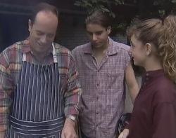 Philip Martin, Casper Mack, Hannah Martin in Neighbours Episode 2641