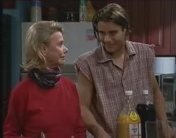 Helen Daniels, Casper Mack in Neighbours Episode 2641