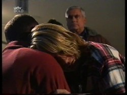 Philip Martin, Ruth Wilkinson, Lou Carpenter in Neighbours Episode 2996