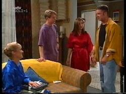 Ruth Wilkinson, Lance Wilkinson, Anne Wilkinson, Ben Atkins in Neighbours Episode 3109