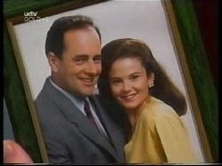 Michael Martin, Philip Martin, Julie Robinson in Neighbours Episode 3109