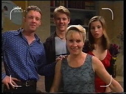 Ben Atkins, Lance Wilkinson, Ruth Wilkinson, Anne Wilkinson in Neighbours Episode 3109
