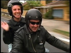 Ruth Wilkinson, Harley Rider in Neighbours Episode 3109
