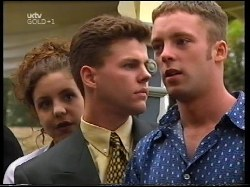 Hannah Martin, Michael Martin, Ben Atkins in Neighbours Episode 3109