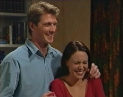 Mike Healy, Libby Kennedy in Neighbours Episode 3212