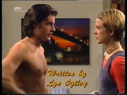 Drew Kirk, Sally Upton in Neighbours Episode 3221