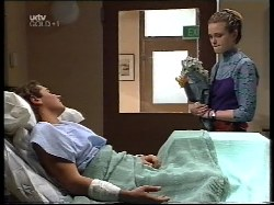 Joel Samuels, Sally Upton in Neighbours Episode 3221