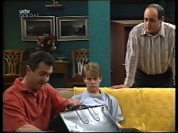 Karl Kennedy, Lance Wilkinson, Philip Martin in Neighbours Episode 3221