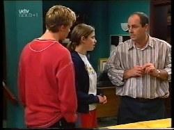 Billy Kennedy, Anne Wilkinson, Philip Martin in Neighbours Episode 3222