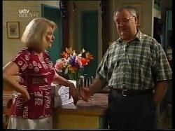 Madge Bishop, Harold Bishop in Neighbours Episode 3222
