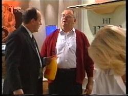 Philip Martin, Harold Bishop, Madge Bishop in Neighbours Episode 3225