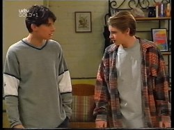 Paul McClain, Tad Reeves in Neighbours Episode 3225