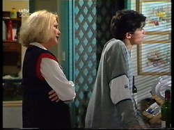 Madge Bishop, Paul McClain in Neighbours Episode 3225