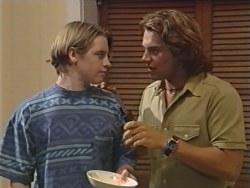 Tad Reeves, Joel Samuels in Neighbours Episode 3280
