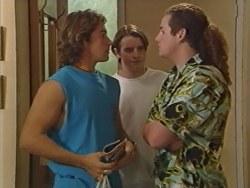 Joel Samuels, Tad Reeves, Toadie Rebecchi in Neighbours Episode 3280