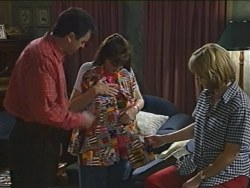 Karl Kennedy, Susan Kennedy, Ruth Wilkinson in Neighbours Episode 3281