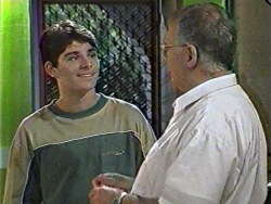 Paul McClain, Harold Bishop in Neighbours Episode 3284