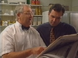 Harold Bishop, Karl Kennedy in Neighbours Episode 3297