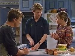 Billy Kennedy, Lance Wilkinson, Anne Wilkinson in Neighbours Episode 3342