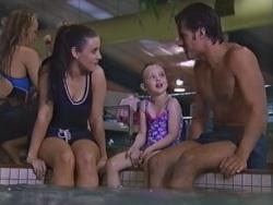 Geri Hallet, Louise Carpenter (Lolly), Drew Kirk in Neighbours Episode 3342