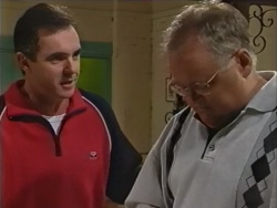 Karl Kennedy, Harold Bishop in Neighbours Episode 3342
