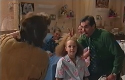 Lyn Scully, Phoebe Myers, Karl Kennedy in Neighbours Episode 3546