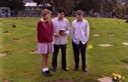 Felicity Scully, Paul McClain, Tad Reeves in Neighbours Episode 3645