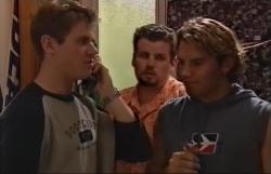 Lance Wilkinson, Toadie Rebecchi, Joel Samuels in Neighbours Episode 3645