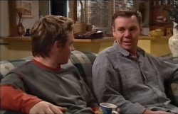 Tad Reeves, Stephen Bailey in Neighbours Episode 3645