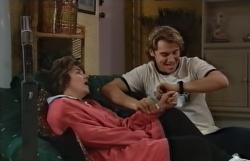 Lyn Scully, Joel Samuels in Neighbours Episode 3645