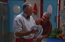 Harold Bishop, Lou Carpenter in Neighbours Episode 3794