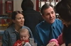 Libby Kennedy, Ben Kirk, Karl Kennedy in Neighbours Episode 4063