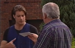 Drew Kirk, Lou Carpenter in Neighbours Episode 4063