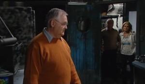 Harold Bishop, Lou Carpenter, Izzy Hoyland in Neighbours Episode 4631