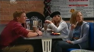 Boyd Hoyland, Sky Mangel, Lana Crawford in Neighbours Episode 4634